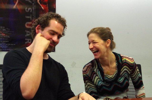 マックス・ウェブスター&ジュリア・ハンセン『メアリー・スチュアート』