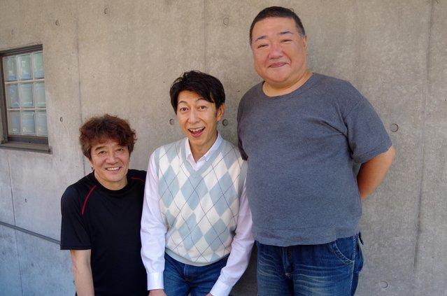 舞台『ス・ワ・ン』3軒茶屋婦人会の篠井英介、深沢敦、大谷亮介にインタビュー! 「3軒茶屋婦人会、誕生の秘話をお話します!」