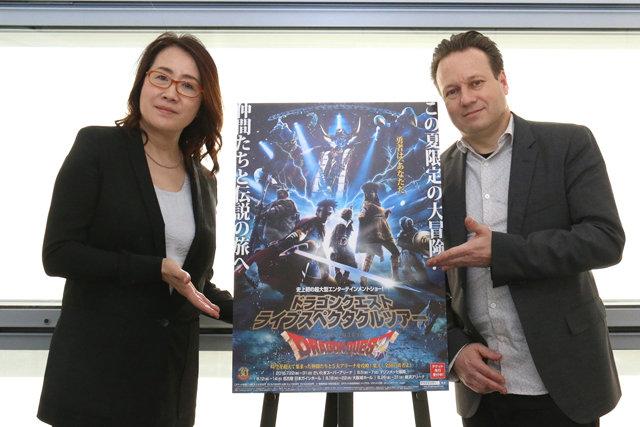 『ドラゴンクエスト ライブスペクタクルツアー』金谷かほり&レイ・ウィンクラーインタビュー