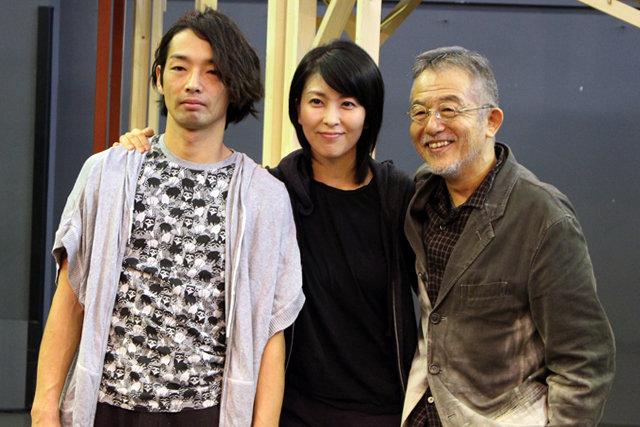 舞台『メトロポリス』森山未來×松たか子×串田和美インタビュー!「綺麗な夕焼けを見て感動するように理屈抜きで楽しめる舞台を作りたい」