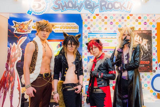 Live Musical「SHOW BY ROCK!!」米原幸佑&輝馬&鳥越裕貴&滝川英治インタビュー!「シンガンクリムゾンズにたくさん会えてよかったと思える1年に!」