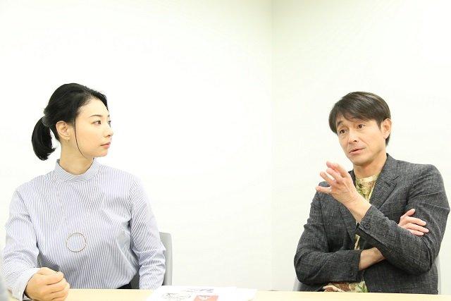舞台『ローマの休日』吉田栄作×朝海ひかるインタビュー_4