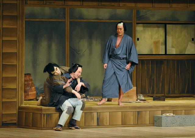 衛星劇場_尾上松緑『眠駱駝物語~らくだ』