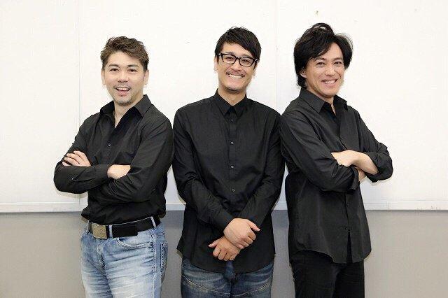 『cube三銃士 Mon STARS Concert ~Again~』橋本さとし、石井一孝、岸祐二にインタビュー!「禁断の果実を食べにきて」