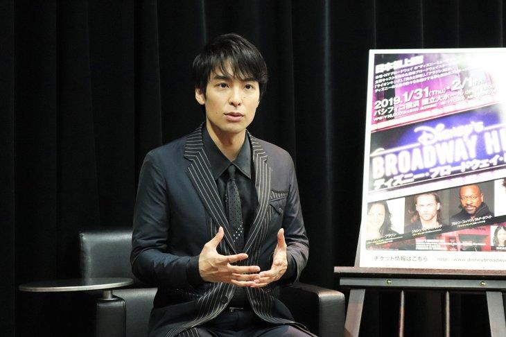 『ディズニー・ブロードウェイ・ヒッツ』海宝直人インタビュー_4