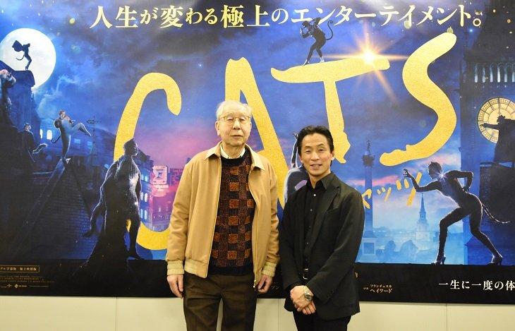 全く新しい解釈で生まれ変わった映画『キャッツ』の魅力とは!安倍寧×堀内元インタビュー