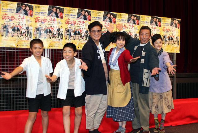【動画】『菊次郎とさき』製作発表記者会見<1>