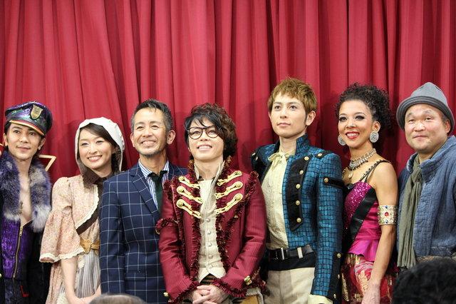 【動画】ミュージカル『ヴェローナの二紳士』初日前記者会見