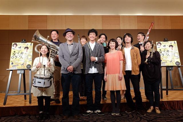 【動画】『つながる音楽劇 麦ふみクーツェ』製作発表<3>会見再開編