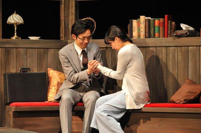【動画】宮藤官九郎×麻生久美子がワケあり夫婦に!?『結びの庭』公開稽古