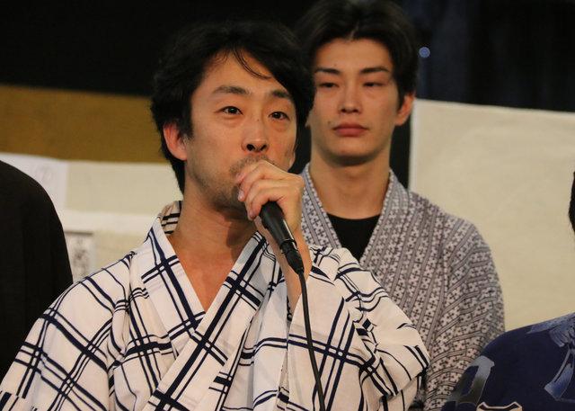 【動画】チームワークの良さが伝わる!!舞台『戯作者銘々伝』記者会見