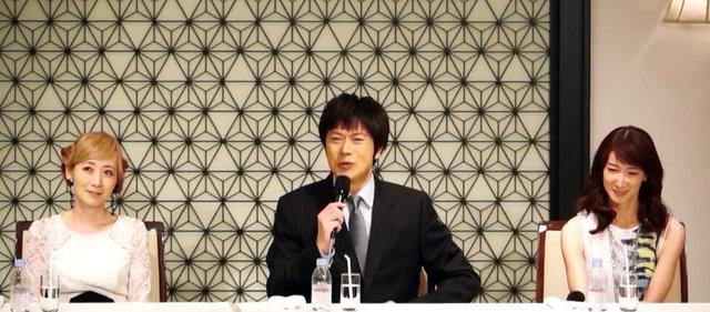 【動画】山口祐一郎が二人の女性に釈明!?『貴婦人の訪問』製作発表<2>