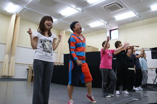 【動画】河本準一初舞台の裏側をチラッと!『うたかふぇ』公開稽古