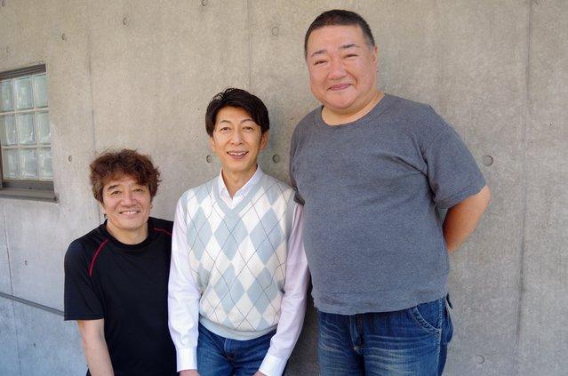 【動画】篠井英介&深沢敦&大谷亮介(3軒茶屋婦人会)から『ス・ワ・ン』なお知らせです♪