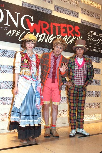 【動画】再演の喜びを胸に…ミュージカル『SONG WRITERS』初日前取材