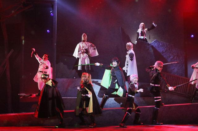【動画】運命に抗う少年たちの激闘を描く!「終わりのセラフ」The Musical公開ゲネプロ