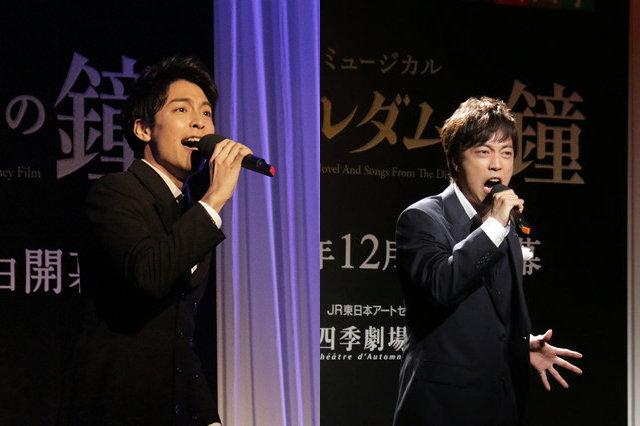 【動画】海宝直人、飯田達郎らが歌唱披露!劇団四季『ノートルダムの鐘』製作発表会