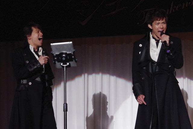 【動画】中川晃教×柿澤勇人によるスペシャルバージョン!ミュージカル『フランケンシュタイン』歌唱披露