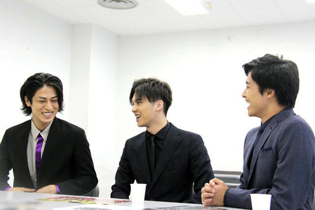 舞台『真田十勇士』荒井敦史×栗山航×丸山敦史からメッセージ!