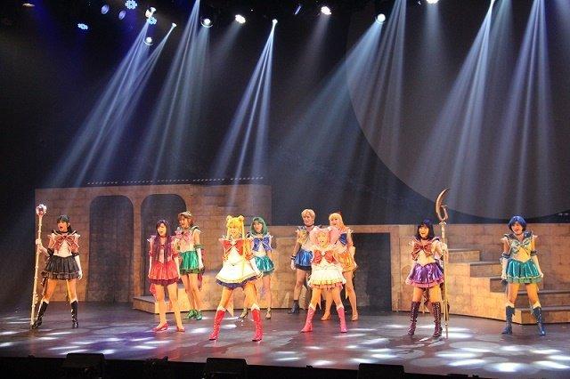 【動画】新セーラー5戦士登場!ミュージカル「美少女戦士セーラームーン」-Amour Eternal- 公開ゲネプロをチラッと見せ