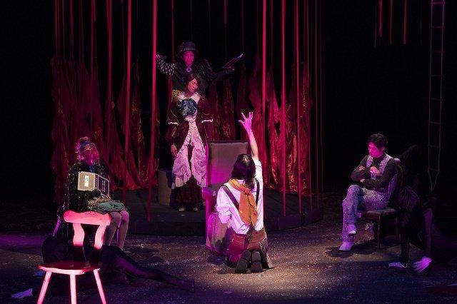 【動画】現世の夢の世界・・・極上文學 第11弾『人間椅子/魔術師』公開舞台稽古をチラッと見せ