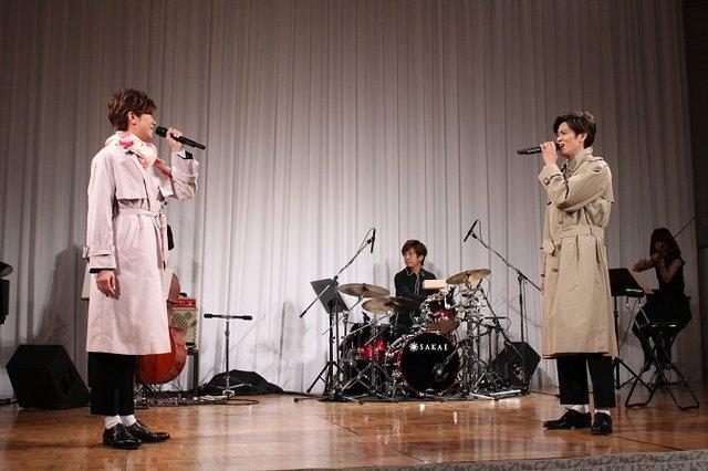 【動画】北翔海莉、新納慎也がデュエット披露!ミュージカル『パジャマゲーム』制作発表<歌唱披露>