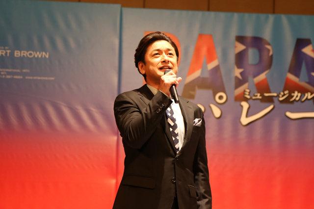 【動画】石丸幹二&堀内敬子が17年ぶりに共演!ミュージカル『パレード』製作発表<歌唱披露>