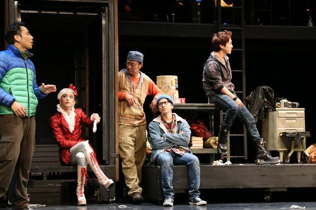 【動画】村井良大、ユナク、平間壮一らが2年ぶり集結!ミュージカル『RENT』ゲネプロ