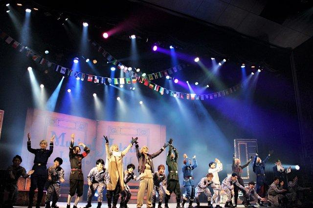 ミュージカル「ヘタリア~in the new world~」東京公演舞台写真_2
