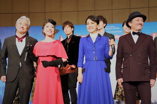 【動画】濱田めぐみ、平原綾香ほか出演!ミュージカル『メリー・ポピンズ』製作発表