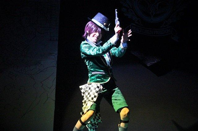 『イケメン革命◆アリスと恋の魔法 THE STAGE』フェンリル編舞台写真_13