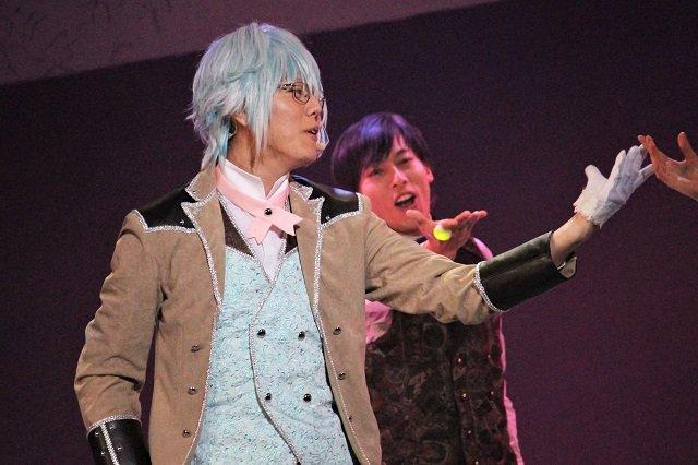 『イケメン革命◆アリスと恋の魔法 THE STAGE』フェンリル編舞台写真_3