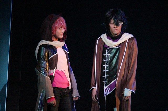 『イケメン革命◆アリスと恋の魔法 THE STAGE』フェンリル編舞台写真_8
