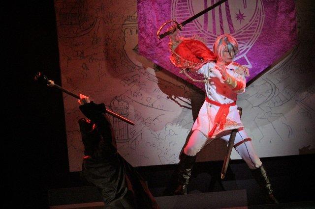 『イケメン革命◆アリスと恋の魔法 THE STAGE』フェンリル編舞台写真_9