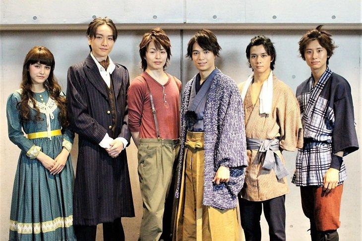 【動画】もっと歴史を深く知りたくなるシリーズ第6弾 舞台『ジョン万次郎』囲み会見