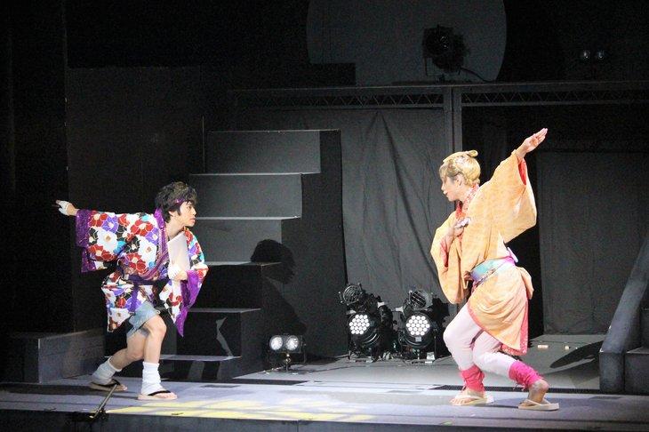 おん・すてーじ『真夜中の弥次さん喜多さん』三重 舞台写真_10