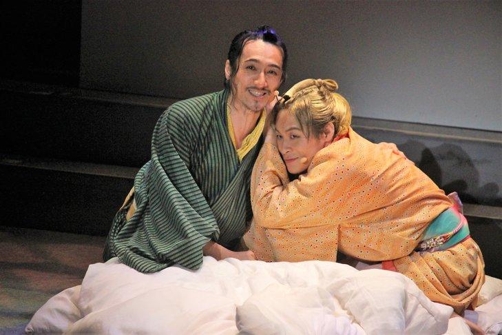 おん・すてーじ『真夜中の弥次さん喜多さん』三重 舞台写真_2