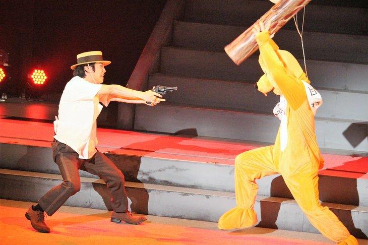 おん・すてーじ『真夜中の弥次さん喜多さん』三重 舞台写真_5