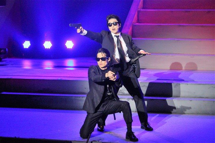 おん・すてーじ『真夜中の弥次さん喜多さん』三重 舞台写真_8
