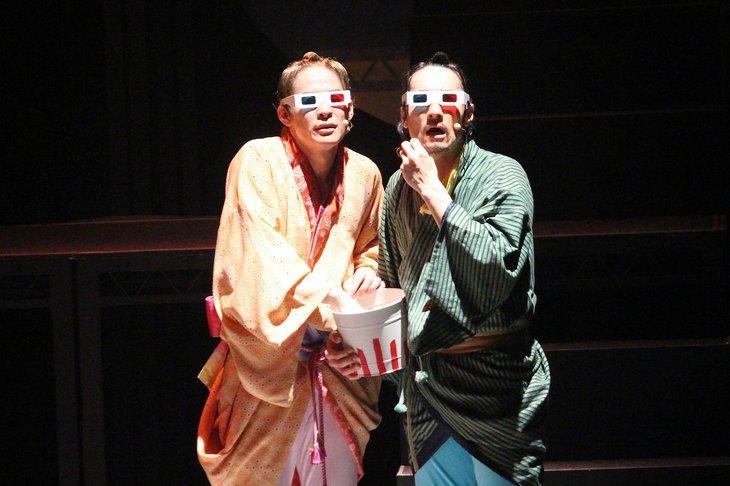 おん・すてーじ『真夜中の弥次さん喜多さん』三重 舞台写真_9