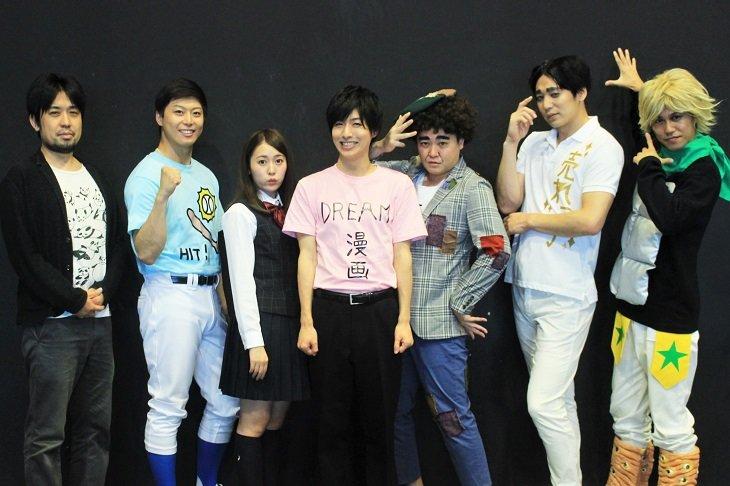 【動画】『舞台 増田こうすけ劇場 ギャグマンガ日和 向かい風 100%』囲み会見