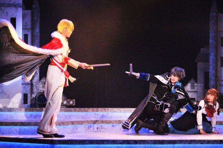 『イケメン革命 THE STAGE』黒のキング舞台写真_15