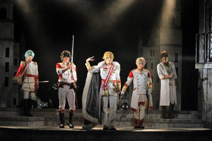 『イケメン革命 THE STAGE』黒のキング舞台写真_19