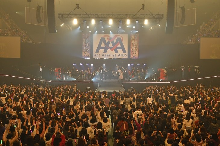 【動画】Act Against AIDS 2018「THE VARIETY 26」ダイジェスト<2>