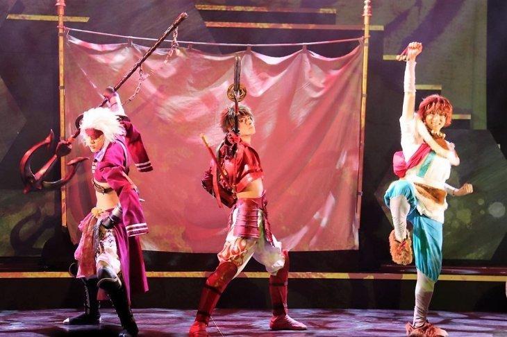 【動画】斬劇『戦国BASARA』蒼紅乱世『紅』未来への誇り 公開ゲネプロ
