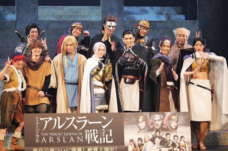 【動画】ミュージカル『アルスラーン戦記』東京公演 囲み会見