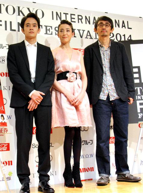映画『紙の月』舞台挨拶で吉田監督・宮沢りえ・池松壮亮が意気込みを語る
