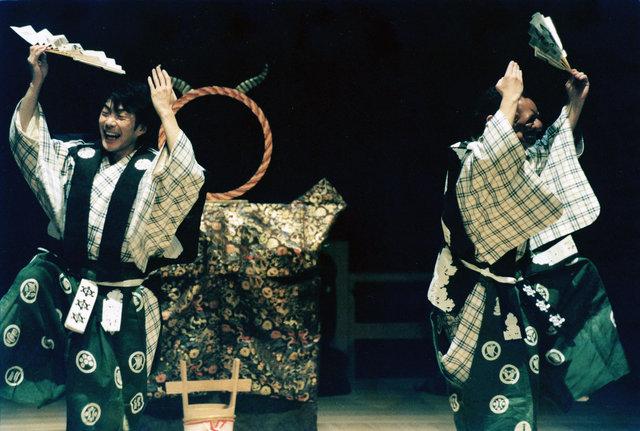 『狂言劇場その弐』より『鏡冠者』