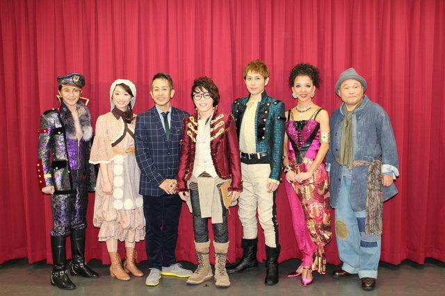 演出・宮本亜門、主演・西川貴教の『ヴェローナの二紳士』開演! 最高のカンパニーでハッピーな作品をお届け!!