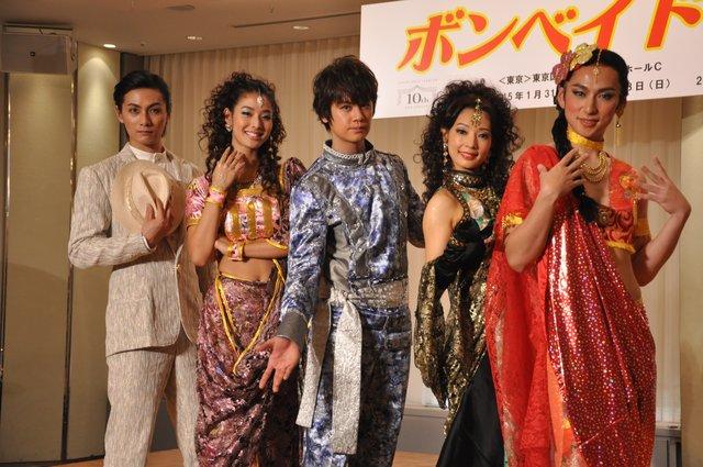 浦井健治、加藤和樹らがマサラ・ミュージカルに挑戦!『ボンベイ ドリームス』日本初上陸!